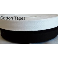 12mm standard cotton tape