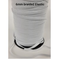 6mm Braided Elastic