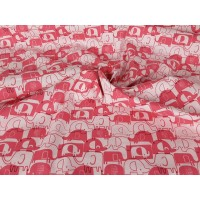 Elephant Cotton Poplin