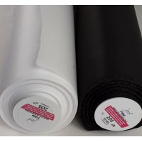 Firm standard iron on, washable interlining, 90cm wide