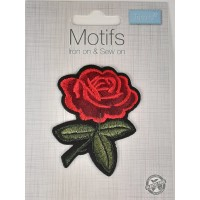 Iron or sew on Motifs-Roses