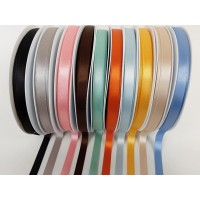 10mm  double satin ribbon by Berisfords
