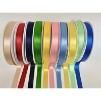 15mm  double satin ribbon by Berisfords