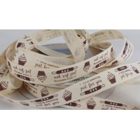 Baking Ribbon: 15mm: Baked Just for You