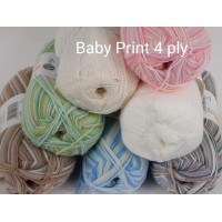 Big Value Baby Print 4Ply