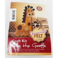 Craft Kit  Ollie the Giraffe
