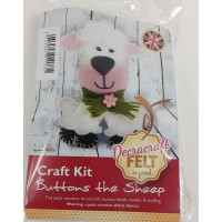 Craft Kit  Buttons the Sheep