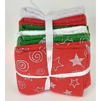 Felt Bundle: Acrylic: 23 x 30cm: Christmas: 6 Pieces: Assorted