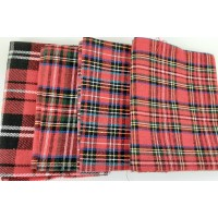 Fat Quarter Bundle: Tartans: Pack of 4