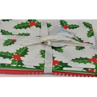 Fat Quarter Pack: Christmas Classic: Pack of 5