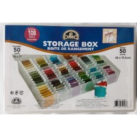 DMC Storage Box for 108 Skeins