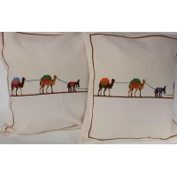CUSHION COVER SHEPHERD, DONKEY & CAMELS