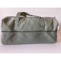 Knitting Bag: Mini Polka Dot: Moss