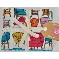 Retro Furniture/ Fat Quarters