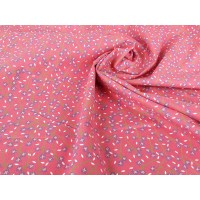 CUTE FLORALS – COTTON PRINT- RED